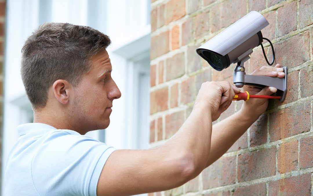 tips for new homeowners include installing a security system